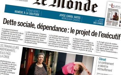 Article paru dans le journal Le Monde