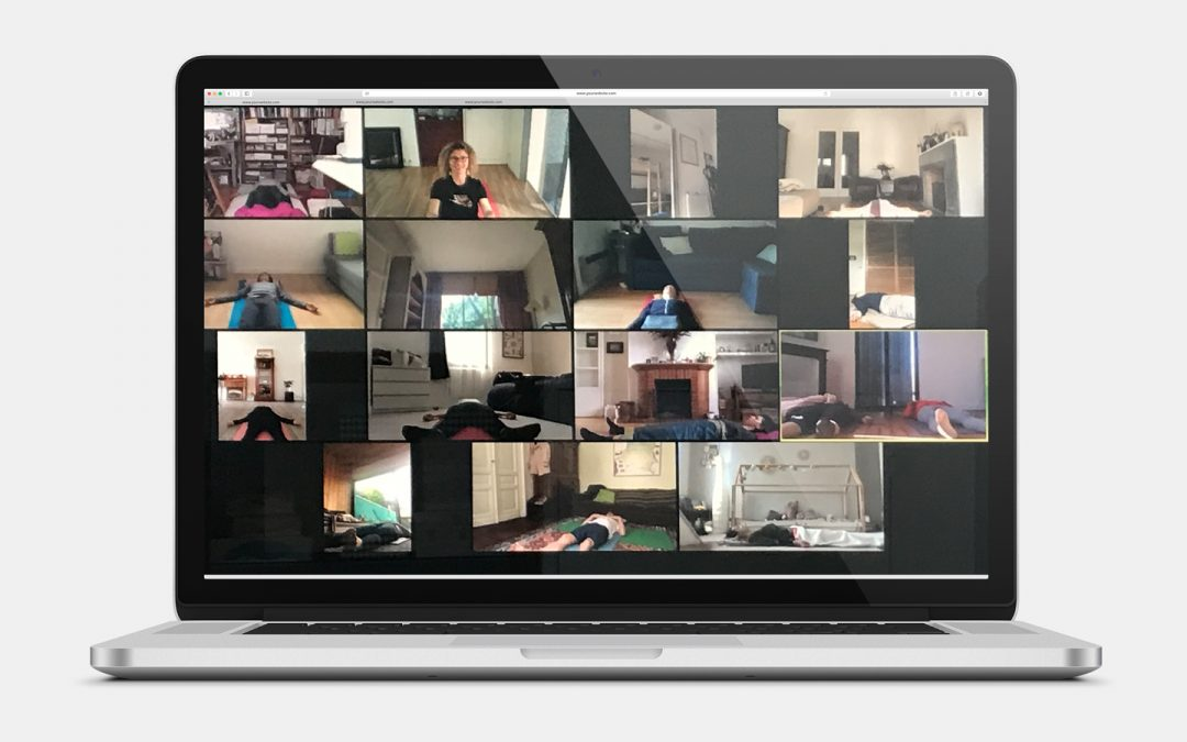 Des cours de Yoga en ligne avec Zoom